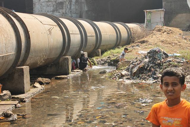Water mafia, fuite d'eau