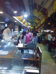 Vendeurs de rue, elco market